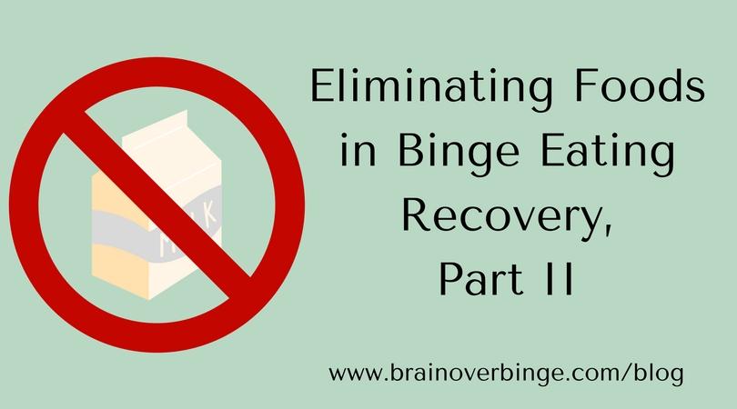 eliminating foods part ii